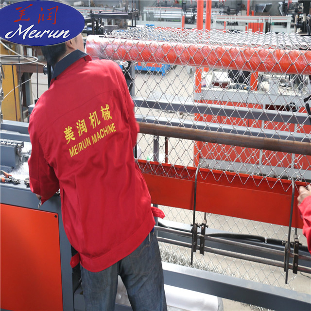 Fully-automatic Chain Link Fence Machine with Cheap Price Popular in Africa And South America