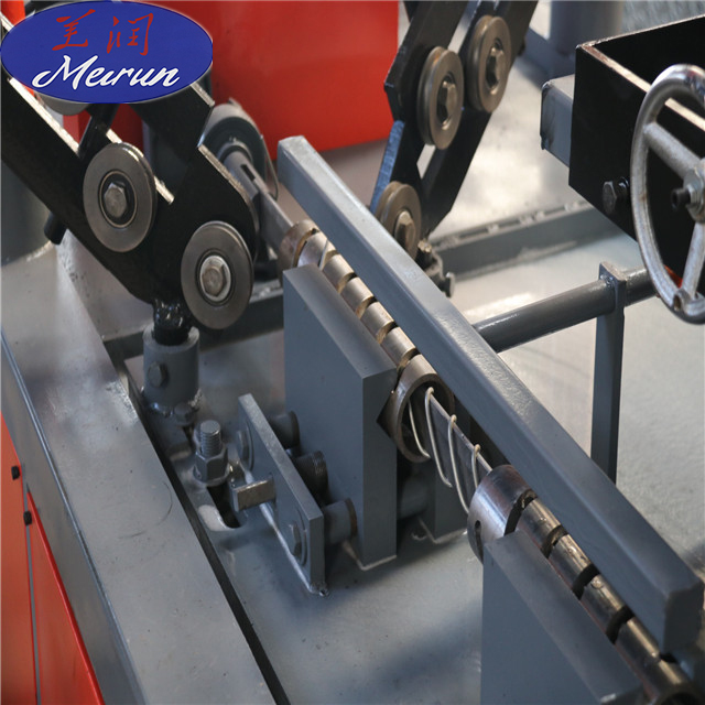 New technology fully automatic chain link fence making machine from Hebei Meirun