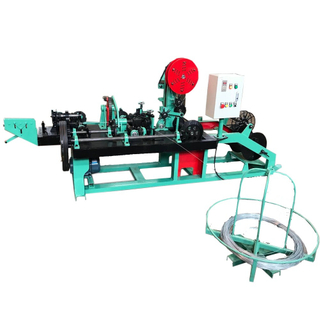 Automatic Barbed Wire Fencing Making Machine