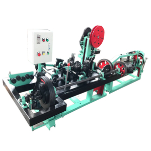 CSB CSC Automatic Barbed Wire Making Machine strand Double strands Barbed wire equipment with 4 pay-off
