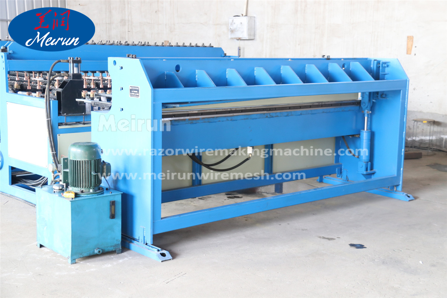Razor Barbed Wire Welding Making Machine