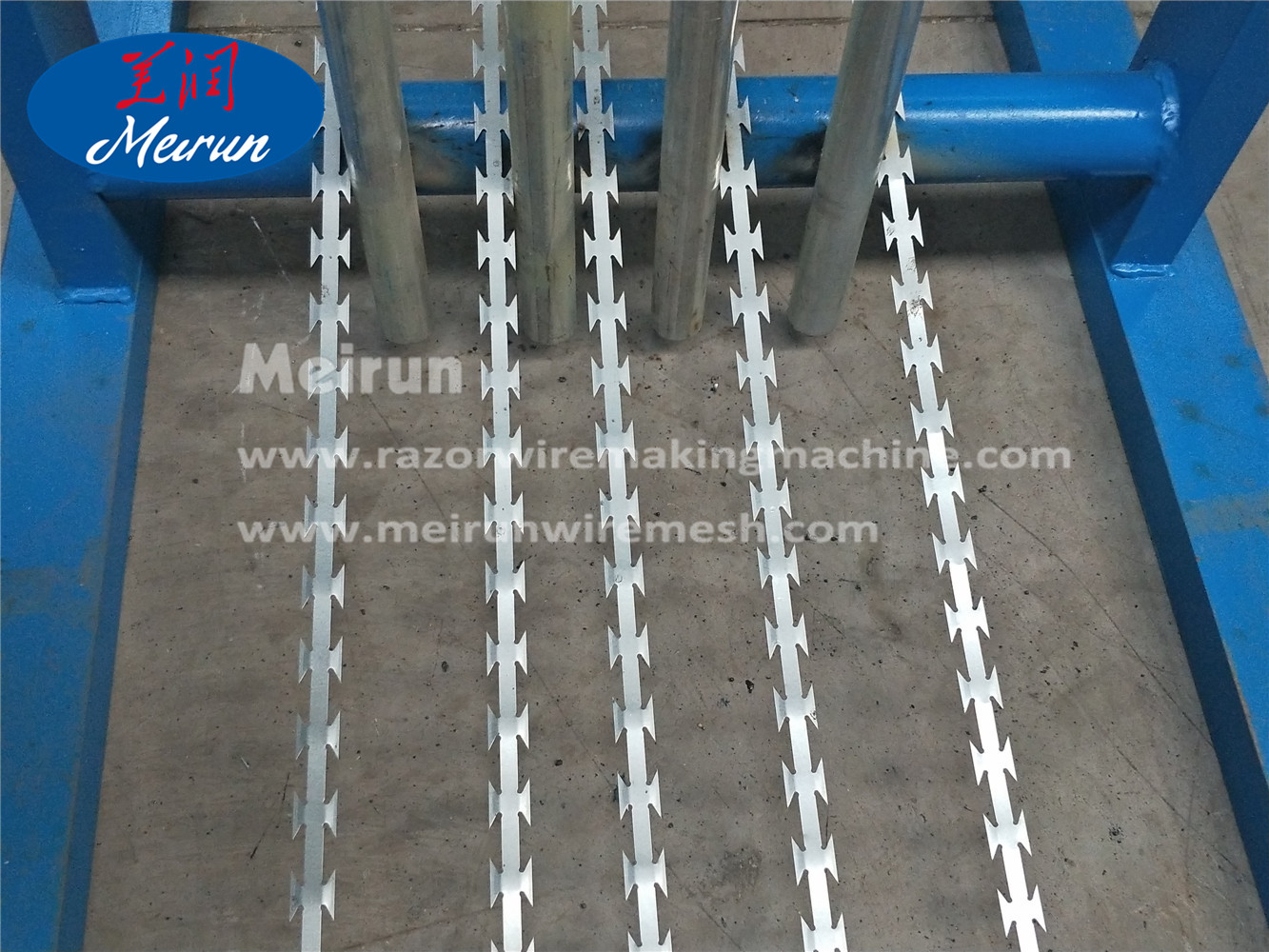 Barbed Wire Clips Razor Wire Fence Machine