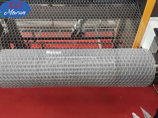 Automatic Reverse Twist Hexagonal Wire Netting Machine