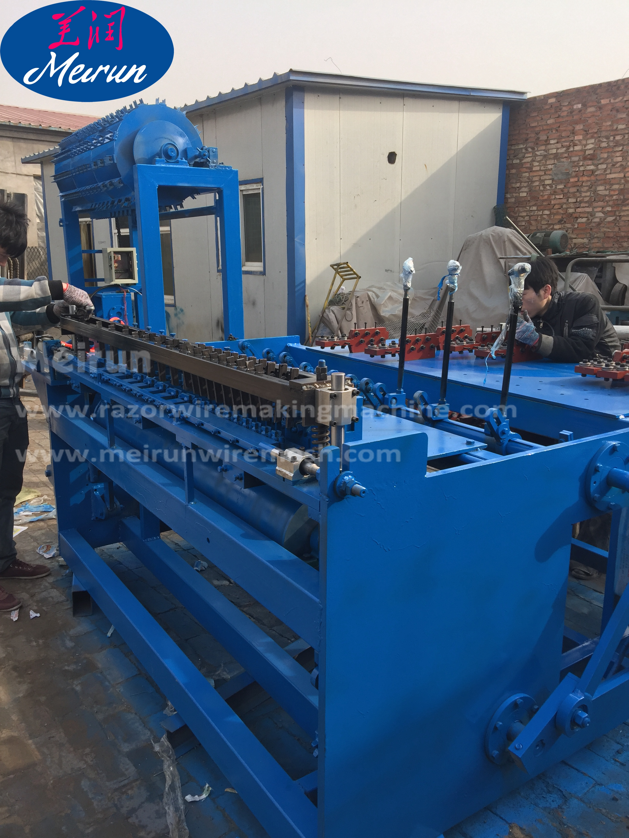 Automatic Grassland Field Fence Wire Mesh Making Machine